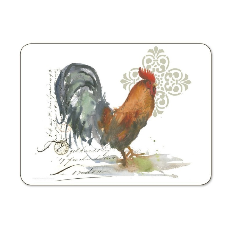 Jason Roosters Placemats