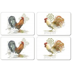 Jason Roosters Tablemats