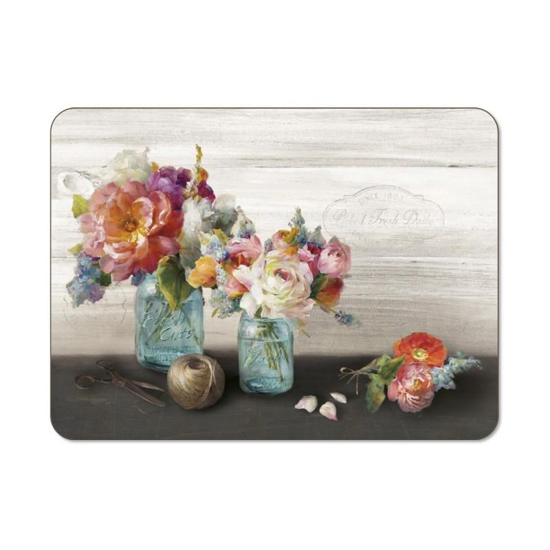 Jason French Cottage Bouquet Placemats