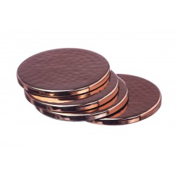 Just Slate Copper coasters