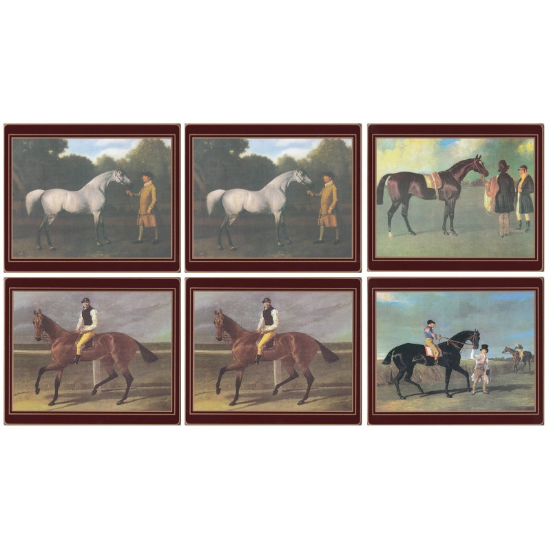 Lady Clare Racehorses Coasters