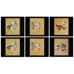 Lady Clare Ming Polo Coasters