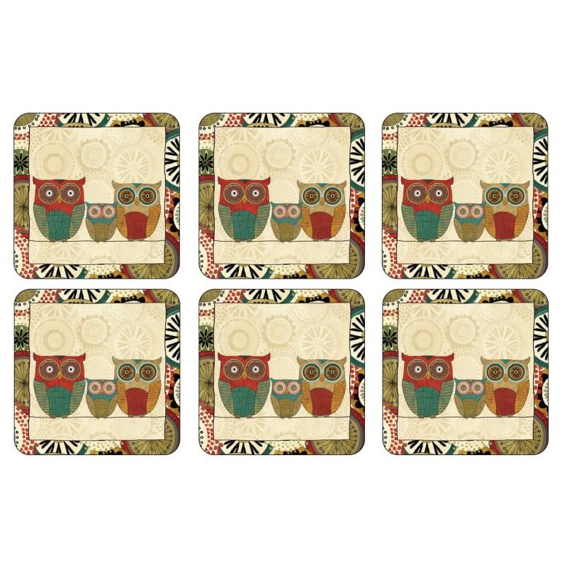 Pimpernel Spice Road Coaster, stylish owl design