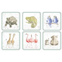 Pimpernel Wrendale Zoological Coaster