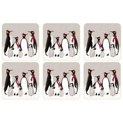 Pimpernel Sara Miller Penguins Coaster set of 6