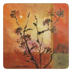 Plymouth Pottery Sunset Coasters