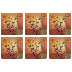 Plymouth Pottery Sunset Coaster