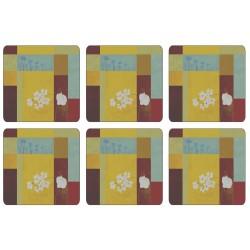 Plymouth Pottery Daisy Squares Coaster