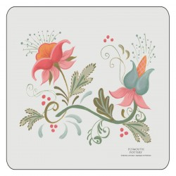 Plymouth Pottery Spring Coasters