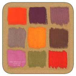 Plymouth Pottery Harlequin Coasters