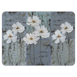 Plymouth Pottery White Poppies Placemats