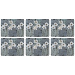 Plymouth Pottery White Poppies Tablemats