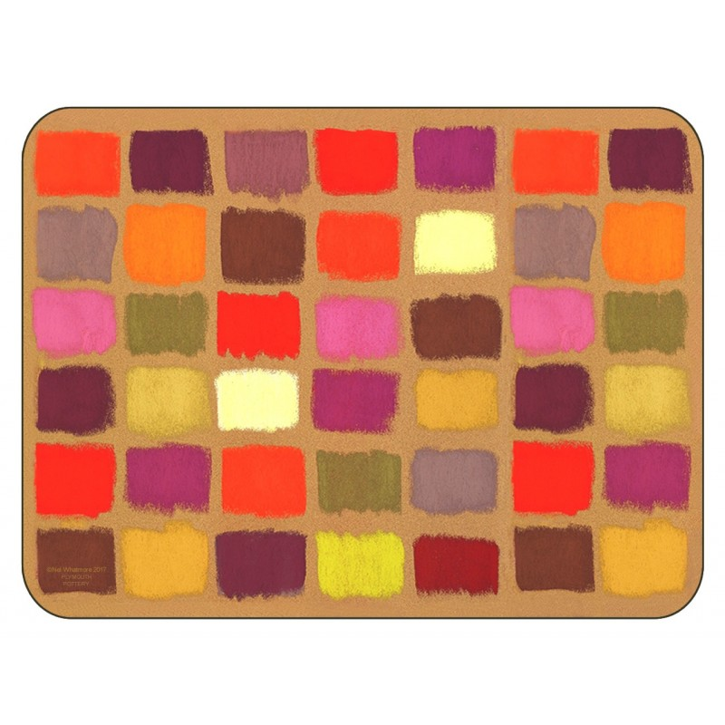 Plymouth Pottery Harlequin Placemats