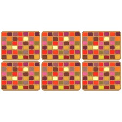 Plymouth Pottery Harlequin Tablemats