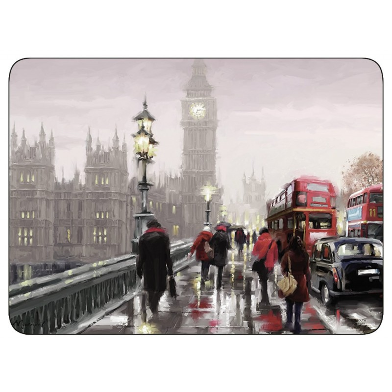 Plymouth Pottery Streets of London Placemats