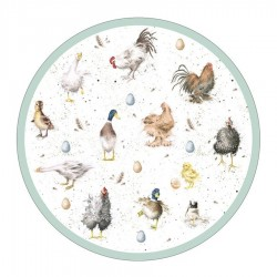 Pimpernel Wrendale Round Placemats