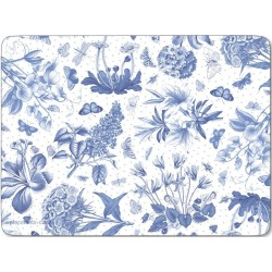 Pimpernel Botanic Blue placemats
