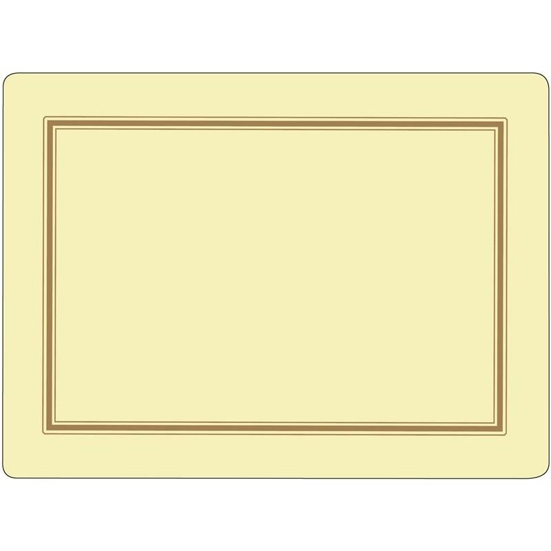 Pimpernel Classic Cream placemats