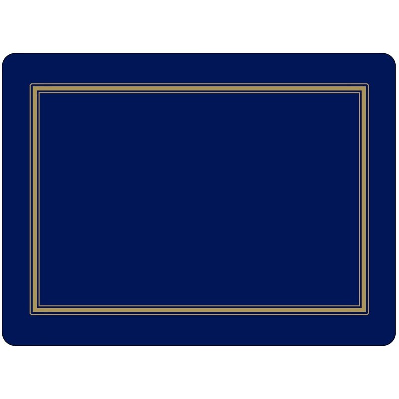 Pimpernel Classic Midnight Blue placemats