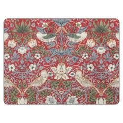 Pimpernel Strawberry Thief Red Placemats