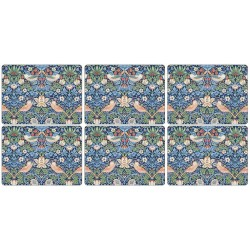 Pimpernel Strawberry Thief Blue Tablemats