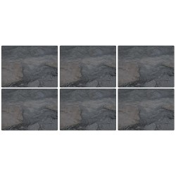 Pimpernel Midnight Slate Tablemats