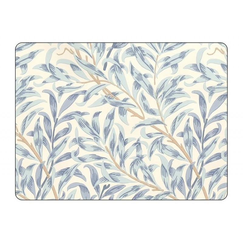 Pimpernel Willow Boughs Blue Placemats