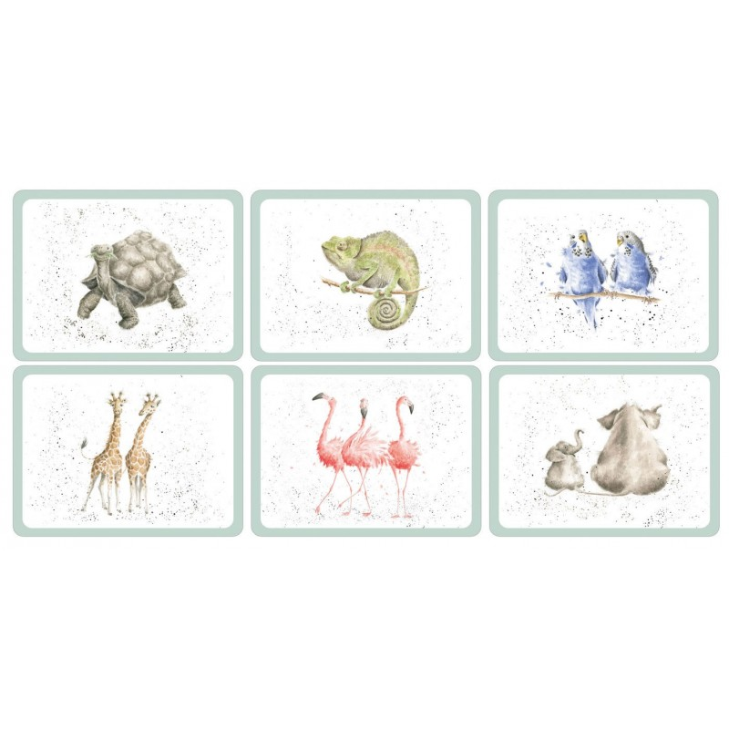Pimpernel Wrendale Zoological placemats