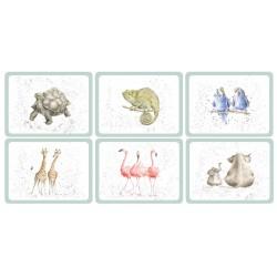 Pimpernel Wrendale Zoological Tablemats