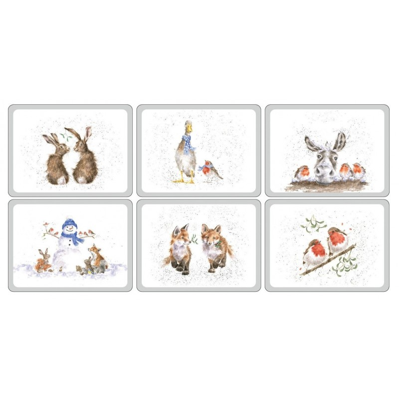 Pimpernel Wrendale Christmas placemats