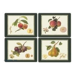 Pimpernel Hooker Fruits UK Large Tablemats