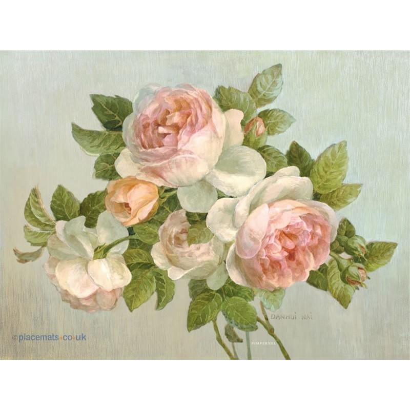 Pimpernel Antique Roses Large Placemats