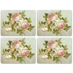 Pimpernel Antique Roses UK Large Tablemats