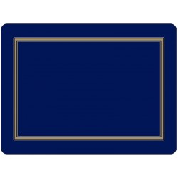 Pimpernel Classic Midnight Blue Large Placemats