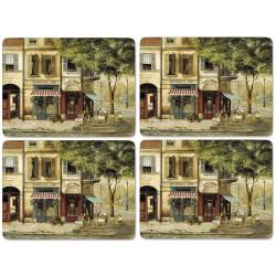 Pimpernel Parisian Scenes UK Large Tablemats