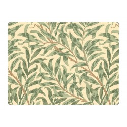 Pimpernel Willow Boughs Green Large Placemats