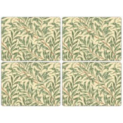 Pimpernel Willow Boughs Green UK Large Tablemats