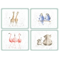 Pimpernel Wrendale Zoological Large Placemats