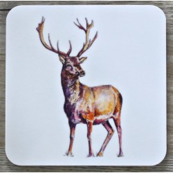Toasted Crumpet Stag coasters