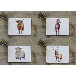 Toasted Crumpet Set1 Tablemats