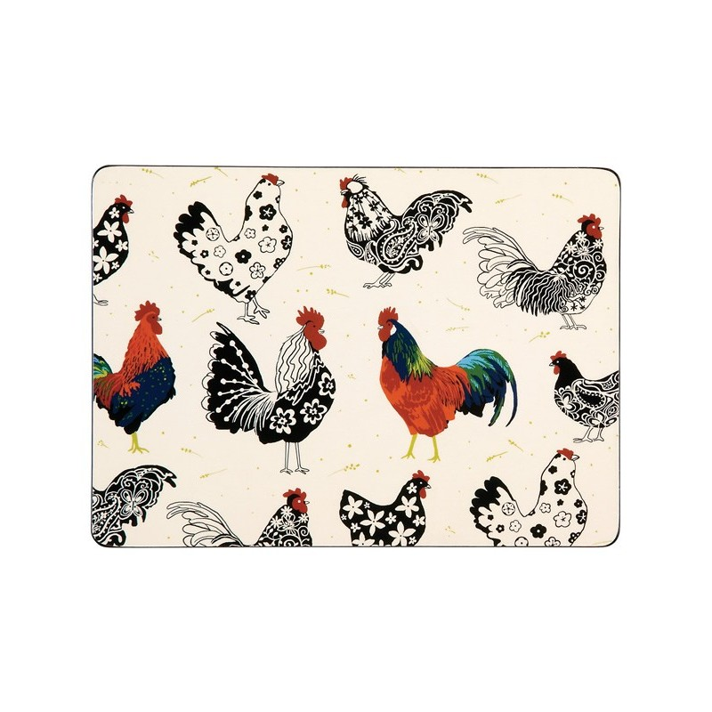 Ulster Weavers Roosters Placemats