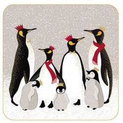 Pimpernel Sara Miller Penguins coasters