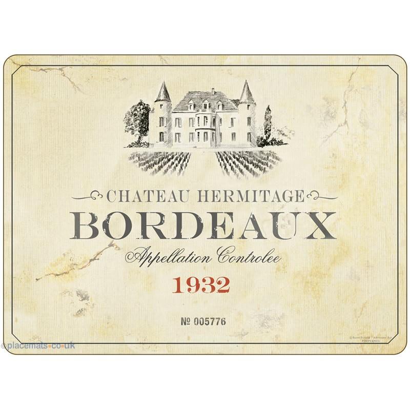 Pimpernel Vin de France Large Placemats Bordeaux