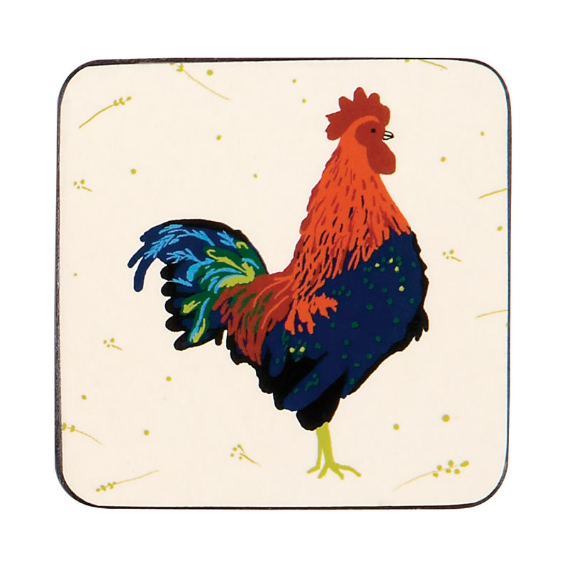 Ulster Weavers Roosters coasters