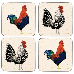 Ulster Weavers Roosters Coaster Set of 4