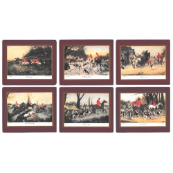 Lady Clare Hunting Scenes Placemats