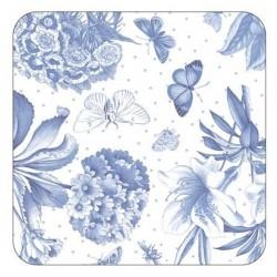 Pimpernel Botanic Blue Coasters