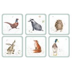 Pimpernel Wrendale Coasters Set of 6