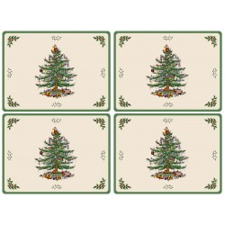 Pimpernel Christmas Tree UK Large Tablemats