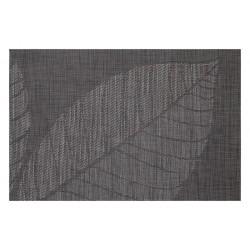 Sable Black FlexiMats Woven Vinyl Tablemats